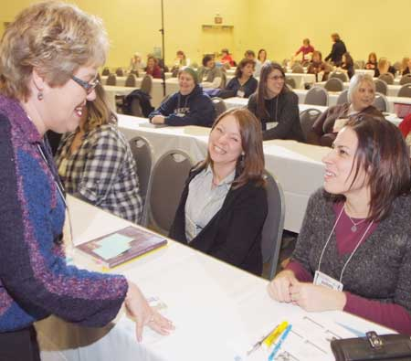 National Reading Recovery Conference session