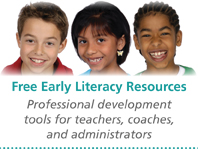 Free Early Literacy Resources logo
