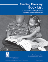 Reading Recovery Book List cover