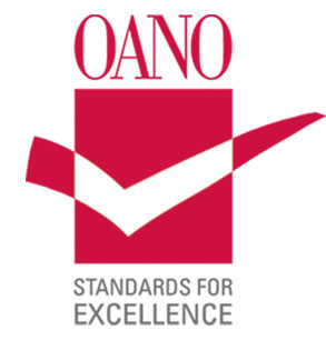OANO certification logo
