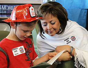 Reading Recovery in New Mexico with Governor Martinez