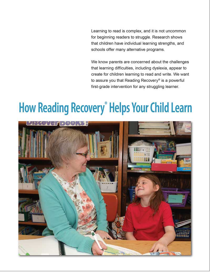 Supporting Struggling Readers Reading Recovery Council Of North America